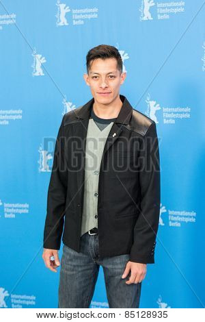 BERLIN, GERMANY - FEBRUARY 11: Actor Luis Alberti. 'Eisenstein in Guanajuato' photocall. 65th Berlinale International Film Festival at Grand Hyatt Hotel on February 11, 2015 in Berlin, Germany.