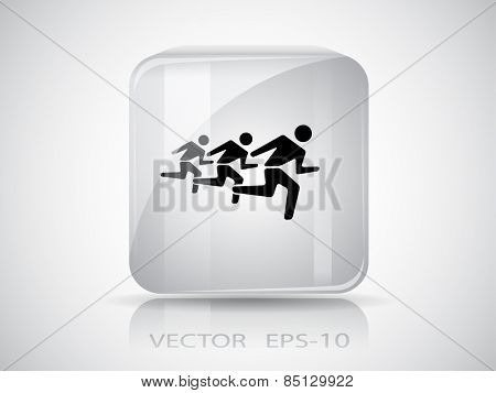 icon of running mans