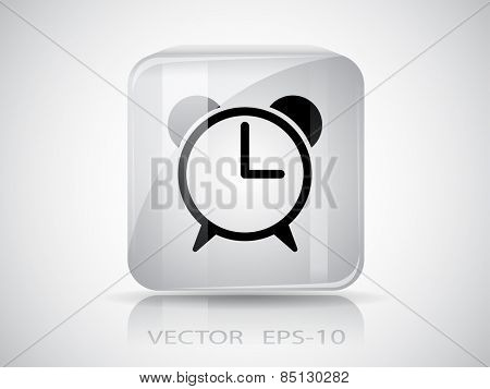 icon of alarm clock