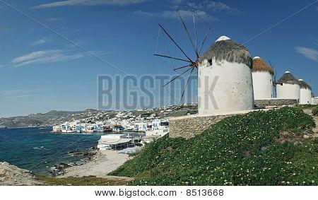 View From Mykonos, Greece