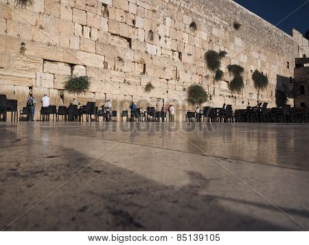 Prayers at the Western (Wailing) Wall