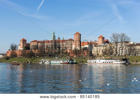 The Royal Castle at the Wawel Hill