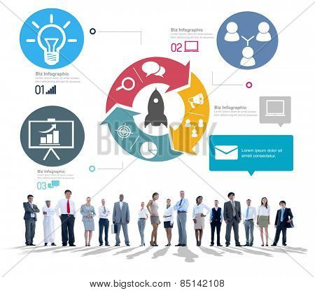Business People Innovation Start Up Success Growth Concept