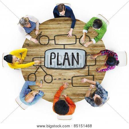 People Cooperation Plan Vision Development Guideline Strategetic Ideas Concept