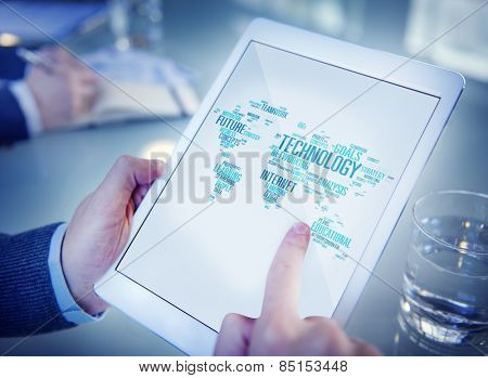 Technology Networking Connection Global Communication Concept