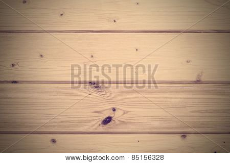 Pine-tree wall lining, natural background, toned picture