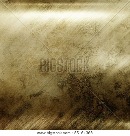 Gold metal texture for background