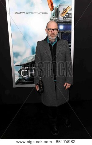 NEW YORK-MAR 4: Singer Michael Stipe attends the premiere of