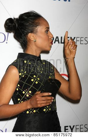 LOS ANGELES - MAR 8:  Kerry Washington at the PaleyFEST LA 2015 -