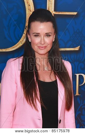 LOS ANGELES - MAR 8:  Kyle Richards at the Disney's