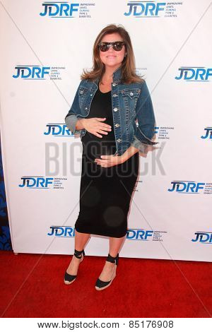 LOS ANGELES - MAR 8:  Tiffani Thiessen at the Disney's