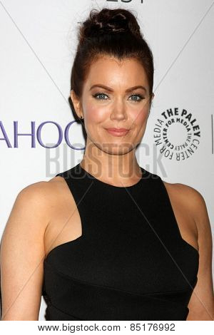 LOS ANGELES - MAR 8:  Bellamy Young at the PaleyFEST LA 2015 -