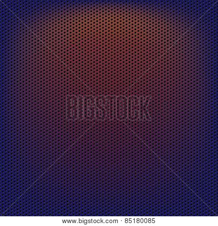Perforated carbon fiber weave abstract background