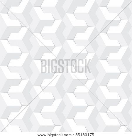 abstract grey geometric seamless pattern