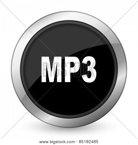 mp3 black icon