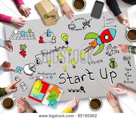 Start Up Business concept
