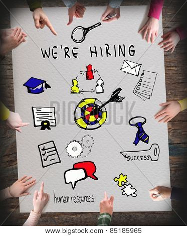 Recruitment, We are Hiring, Human Resources