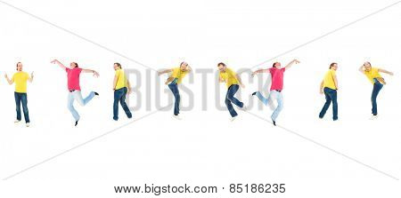 Funny Concept Isolated over White