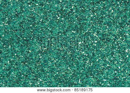 green emerald glitter makeup background