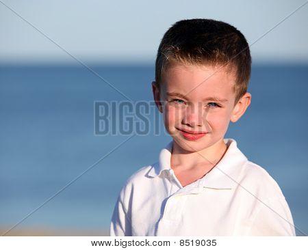 Cute Boy In Sunlight