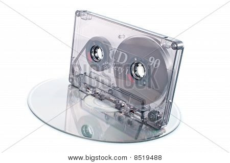 Tape Cassette And Digital Compact Disc