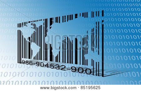 World Binary Barcode