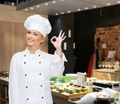 pic of chef cap  - cooking - JPG