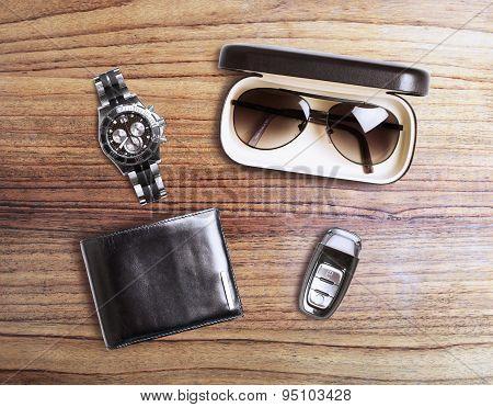 Set Of Men's Accessories