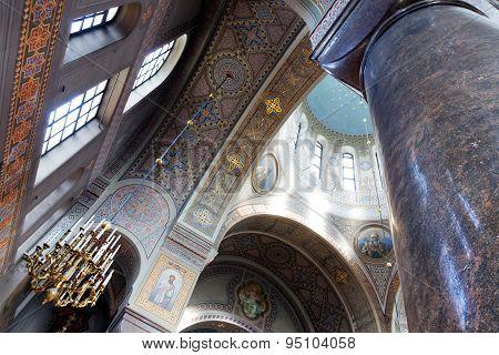 Interior Of Uspenski Cathedral In Helsinki