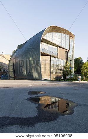 Museum For Modern Art Kiasma In Capital Of Finland Helsinki