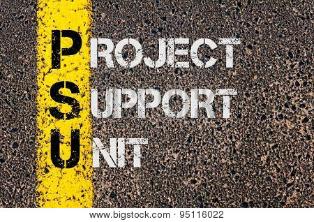 Business Acronym Psu As Project Support Unit