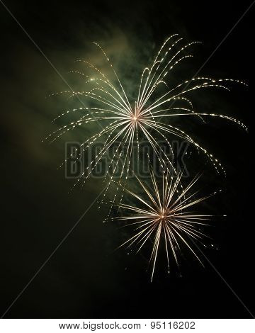 Weeping Willow fireworks
