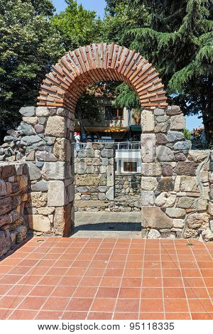 Remains of from Ancient Sozopol