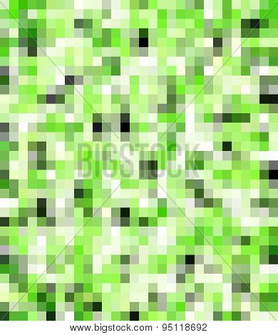 green and black pixel