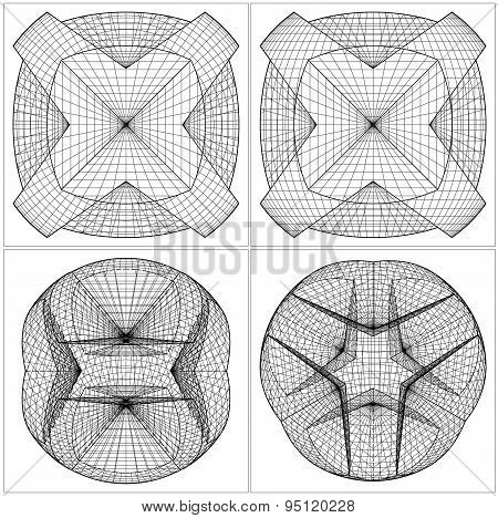 Geometric Sliced Sphere Vector