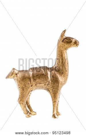Bronze Llama