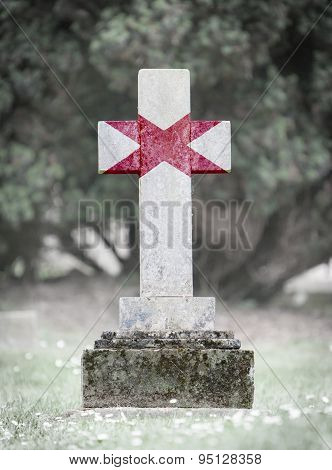 Gravestone In The Cemetery - Alabama