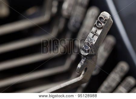 S Hammer - Old Manual Typewriter