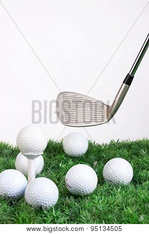 Golf Club And Balls