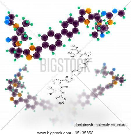 Daclatasvir Molecule Structure