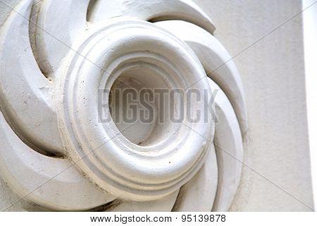Thailand  Bangkok   Palaces  Temple   Abstract    In Spiral Angle