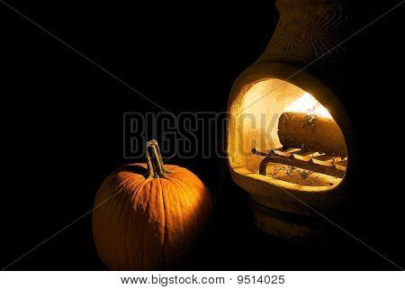 Pumpkin by Fire
