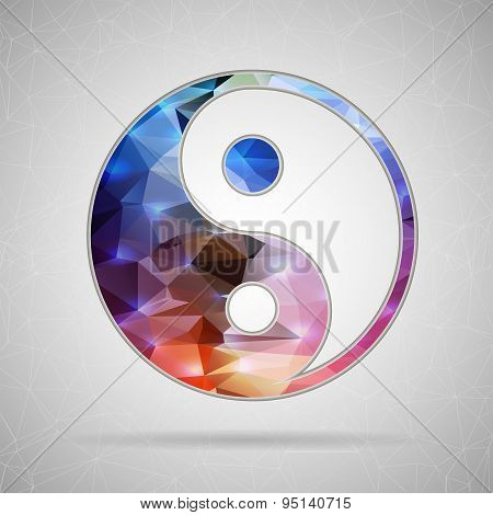 Abstract Creative concept vector icon of for Web and Mobile Applications isolated on background. Vec