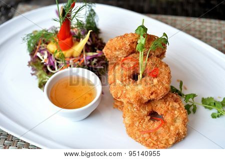 Fry Shrimp Ball