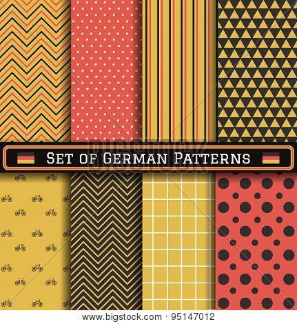 Set Of German Patterns