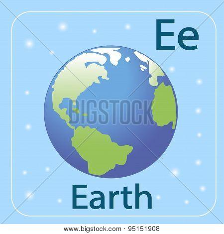 The English letter E