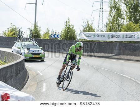 The Cyclist Laurens Ten Dam - Tour De France 2014