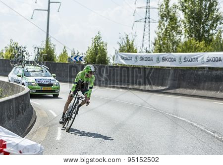 The Cyclist Bauke Mollema - Tour De France 2014