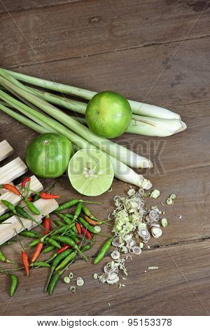Herbs And Spices Thai Tom Yam Soup