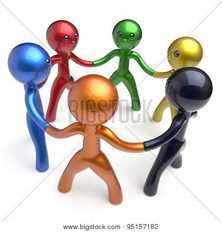Teamwork Social Network Brainstorm Human Resources Men